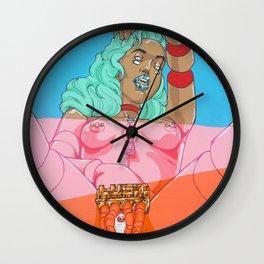 Lost My Way III Wall Clock