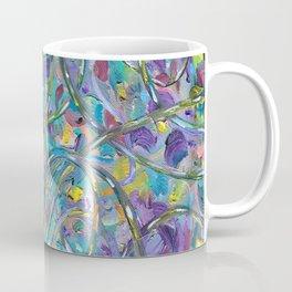 Traffic Jam #OilPainting #Abstract Coffee Mug