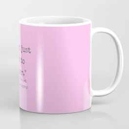 One Cat Leads To Another. Coffee Mug
