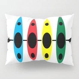 Four Kayaks | DopeyArt Pillow Sham