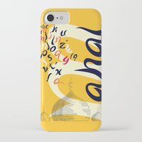font iPhone & iPod Cases featuring Mahal Font by John Hernandez Art