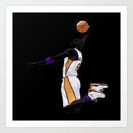 LA Sports Icon #8 Art Print