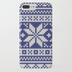 Winter knitted pattern 2 iPhone 7 Plus Slim Case