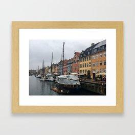 Holbergsgade Framed Art Print