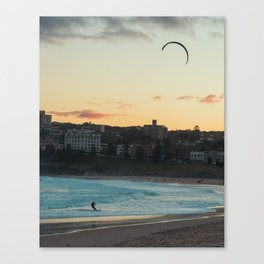 Bondi wind surfer Canvas Print