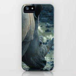 Thirsty Rhino iPhone Case