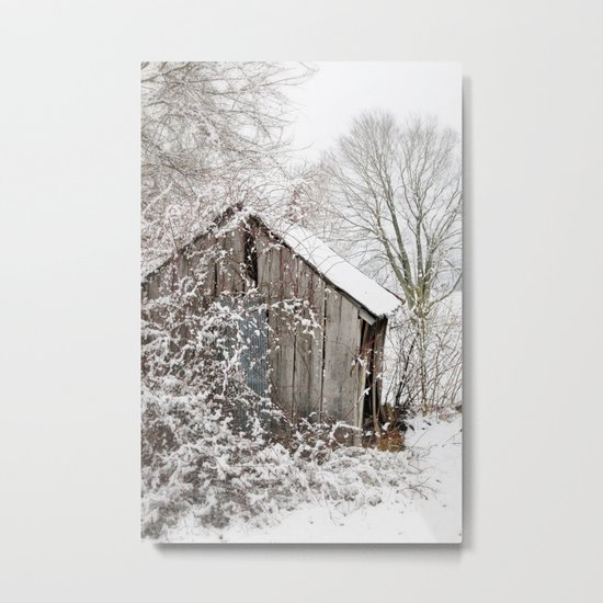 The Wooden Shed Metal Print