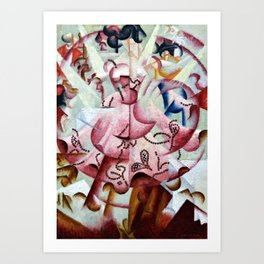 Dancer at Pigalle by Gino Severini Art Print