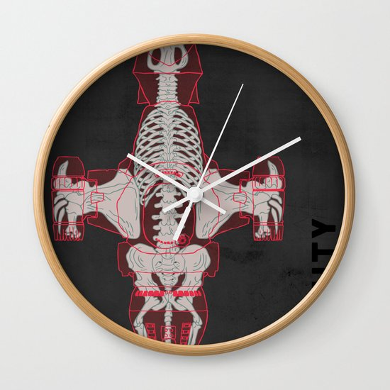 Spaceship Skeletal Survey: The Serenity  Wall Clock