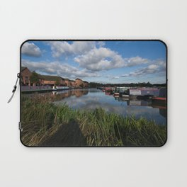 Barton Marina Narrow Boats Laptop Sleeve