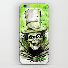 Hat Box Ghost iPhone & iPod Skin
