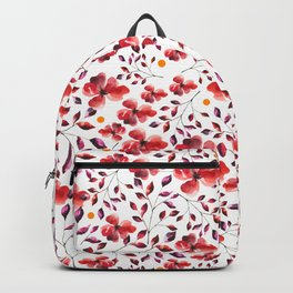 AUTUMN LEAVES - RED Backpack