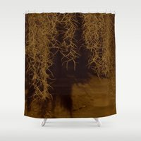 moss Shower Curtains featuring Moss by Atlen