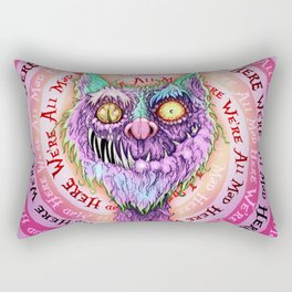 Cheshire Catastrophe Rectangular Pillow