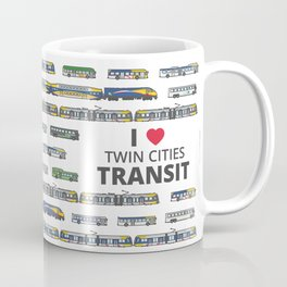 The Transit of the Greater Twin Cities Coffee Mug