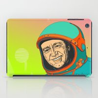 kevin russ iPad Cases featuring Kevin Spacey by IvaDim