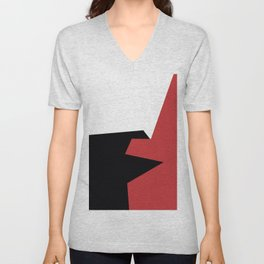 Minimalism Abstract Colors #20 Unisex V-Neck