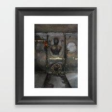 Besse Framed Art Print