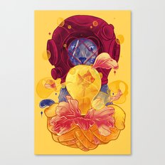 La Lumiere (Yellow) Canvas Print