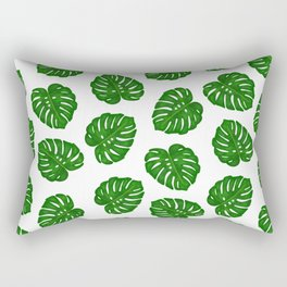 Monstera Deliciosa Rectangular Pillow