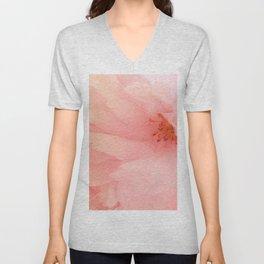 Cherry Blossom Glow Unisex V-Neck