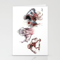 muppets Stationery Cards featuring Horror Muppets by Austen Mengler