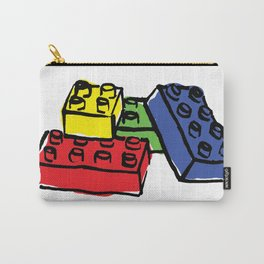 Multi Building Blocks Carry-All Pouch