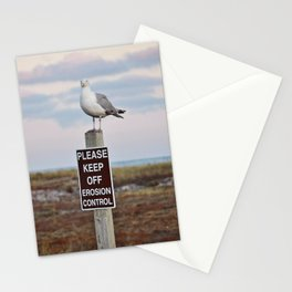Gulls can't read Stationery Cards