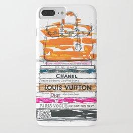 Birkin Bag and Fashion Books iPhone Case