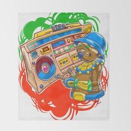 AM Radio Throw Blanket