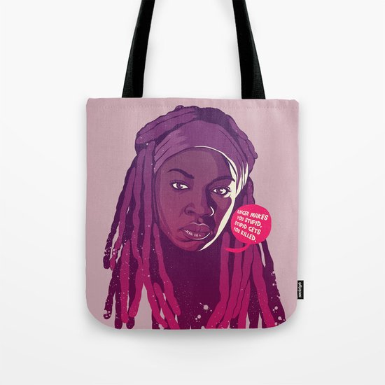 THE WALKING DEAD - Michonne Tote Bag