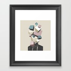 Queen of Cubes Framed Art Print