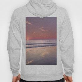 Barrosa Beach At Sunset. Cadiz Hoody