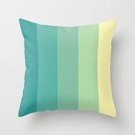 Color#1 Throw Pillow