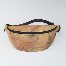 Mushroom Pin-Up Girls - Warm Fanny Pack