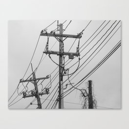 A Slow Takeover Canvas Print