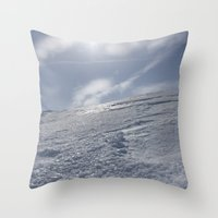 alaska Throw Pillows featuring Alaska by Chris Root