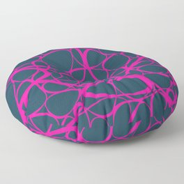 Abstract No6 Floor Pillow