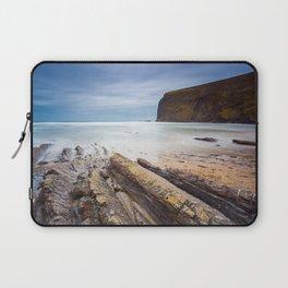 Crackington Haven Cornwall Laptop Sleeve