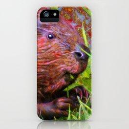 Golly Beaver! iPhone Case