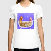 bath T-shirts featuring Bath by Mottinthepot