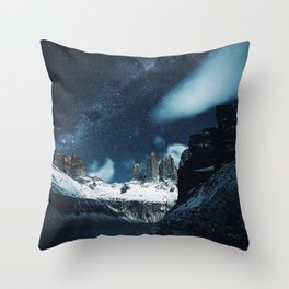 Torres del Paine National Park, Patagonia, Chile Throw Pillow