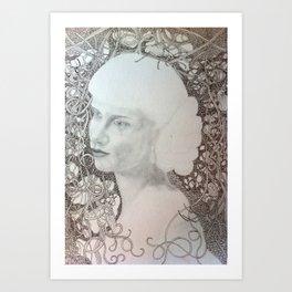 Debutante Art Print