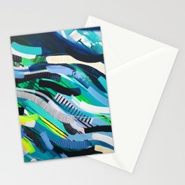 Wave abstract 101 Stationery Cards