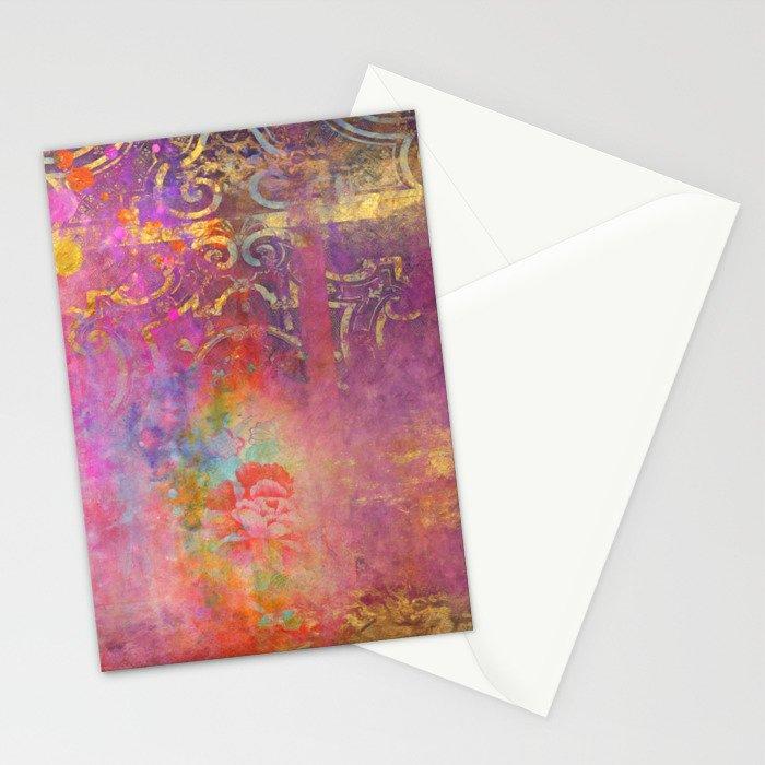 Boho Rose Stationery Cards