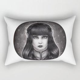 Fae Portrait  Rectangular Pillow