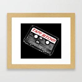 Tape Bitch Framed Art Print