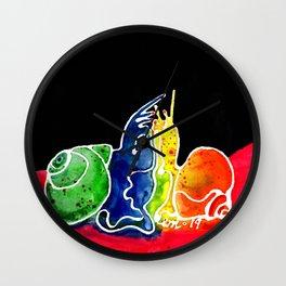Snail Sex Wall Clock