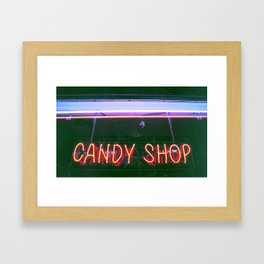 Candy Shop Framed Art Print