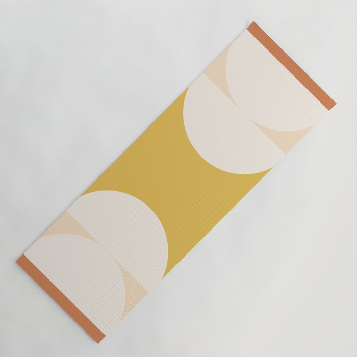 Abstract Geometric 01 Yoga Mat